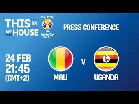 Mali v Uganda - Press Conference - FIBA Basketball World Cup 2019 - African Qualifiers