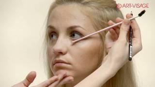 видео Опущенный уголок глаза макияж