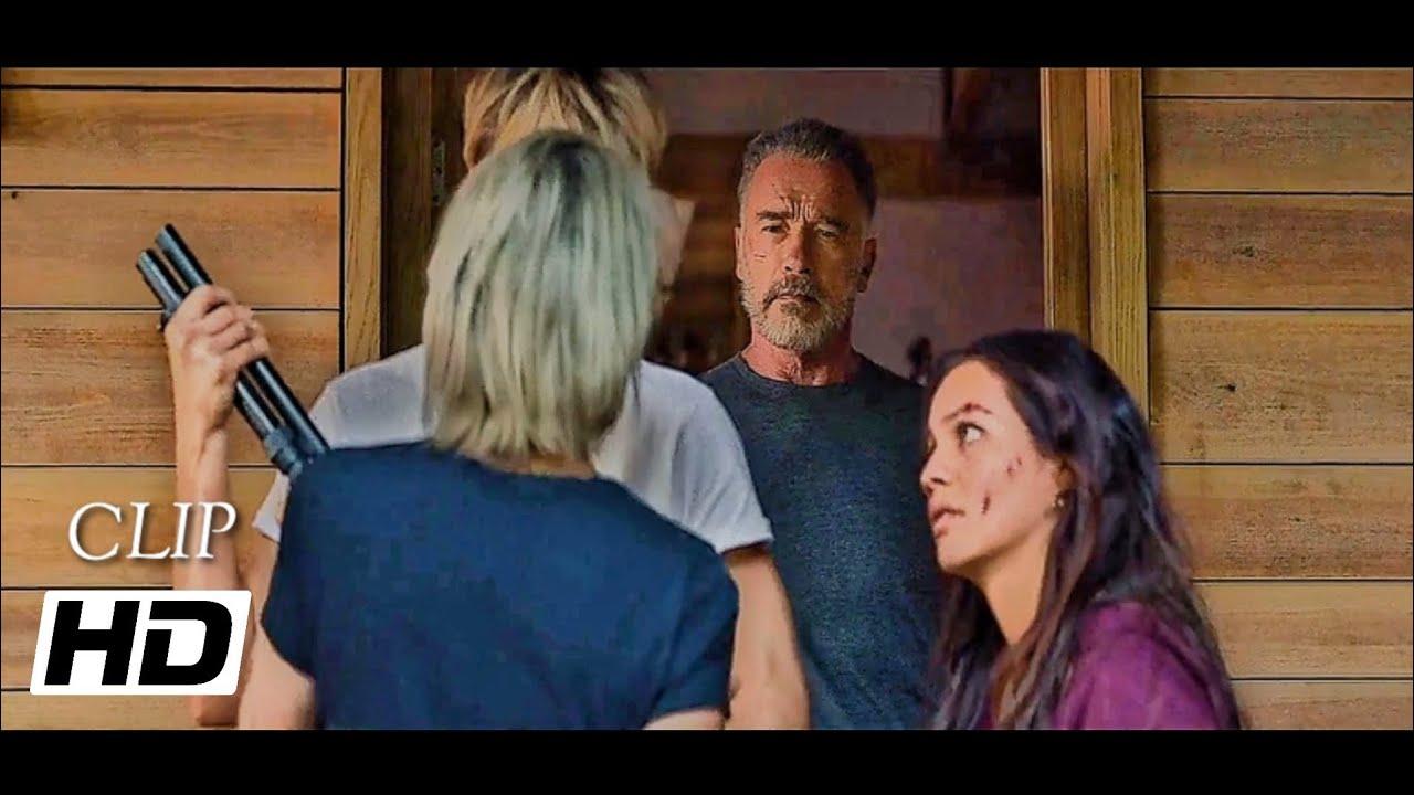 Download Grace Meets T-800 Terminator Scene [Hindi] - Terminator Dark Fate (2019)HD/4K/BluRay.
