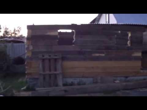 Баня из бруса своими руками 3