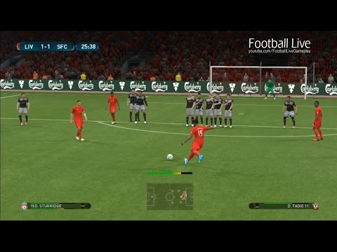 PES 2017 | Liverpool vs Southampton | Goal of Daniel Sturridge rescues team | Gameplay PC