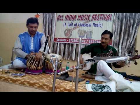 subhrangshu  bhattacharjee sarod charukeshi at All India Mus