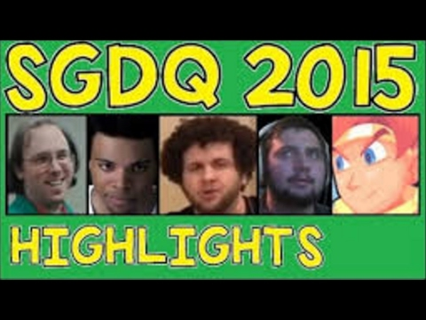 Sgdq 2015 Highlights Awkward Funny And Best Moments