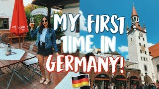 MY FIRST TIME IN GERMANY!! | Jeanine Amapola