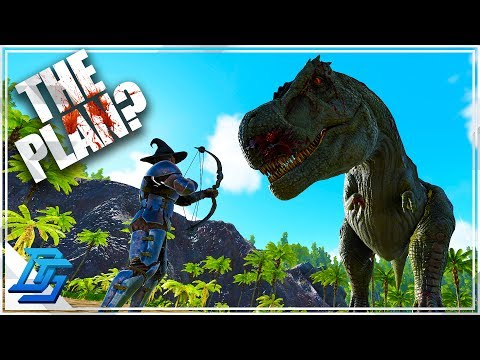 The Titanosaur Raid Plan, Trex vs Demo   - Ark Survival Evolved - PvP - Part 25