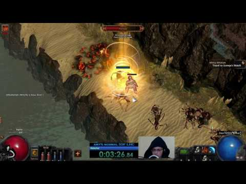 Path of Exile any% normal witch routing (Twitch VOD 3/4/2017)