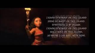 How far I'll go - Moana - Instrumental Karaoke (Key: G)