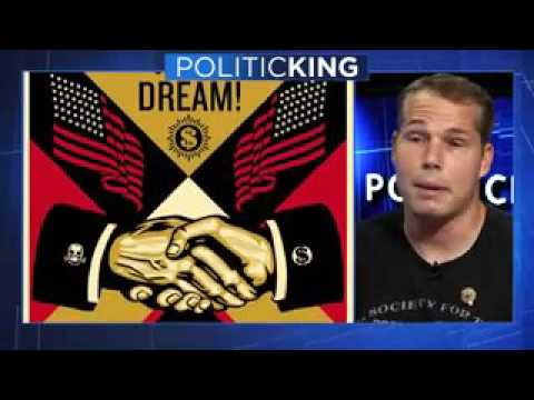 Shepard Fairey Takes Aim at Trump on Larry King
