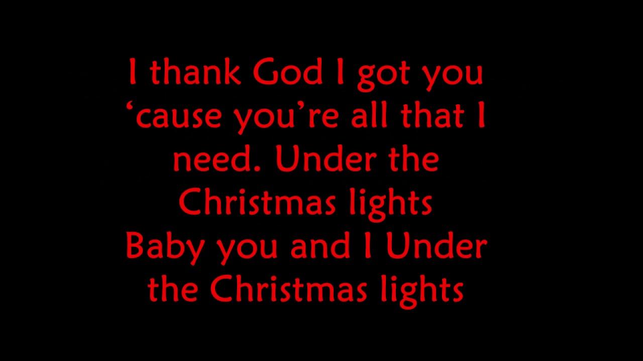 christmas lights lyrics # 17