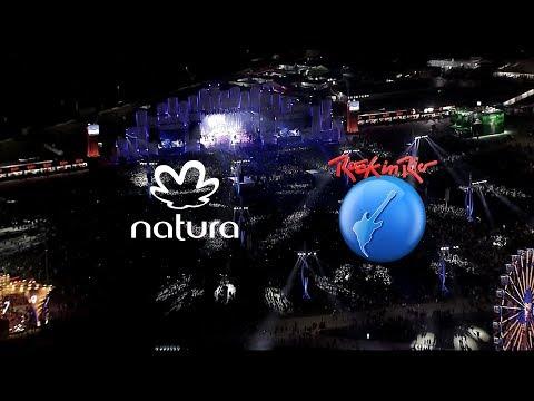 Natura e Rock in Rio por um mundo melhor