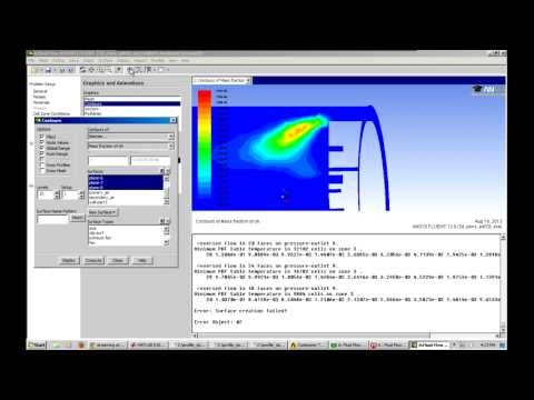 Combustion Tutorial Ansys Fluent!