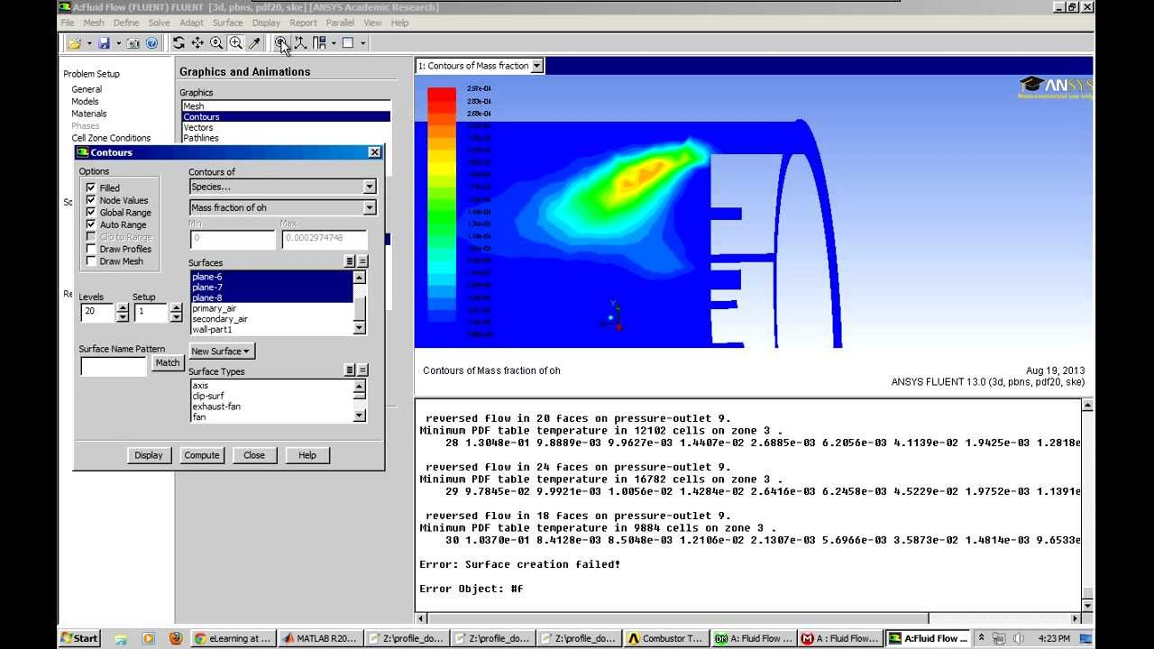 ANSYS-CFX Gas Turbine Combustor - Computational Fluid Dynamics is