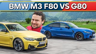 Време за драг: BMW M3 F80 vs M3 Competition G80!