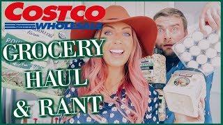 COSTCO GROCERY HAUL & RANT   Sam & Jay
