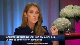 celine dion loved me back to life interview tva 30 9 2013