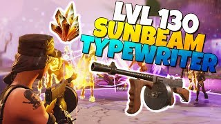 LVL 130 TYPEWRITER Assault Rifle IS IT GOOD? | Fortnite Save The World