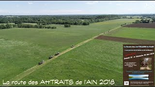 La Route des Att'Traits de l'Ain, à Cormoranche-sur-Saône (01)