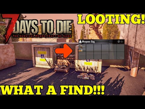 7 Days To Die Alpha 18 Looting The Paper Mill What A Find