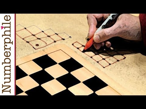 Pebbling a Chessboard (even more) - Numberphile - Pebbling a Chessboard (even more) - Numberphile