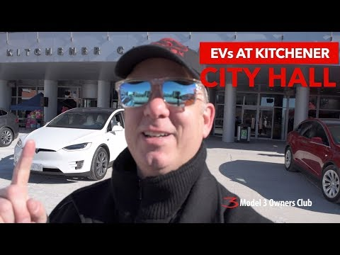 EVs at Kitchener City Hall