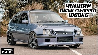 THIS 460BHP MK2 ASTRA GTE TURBO IS A *LETHAL WEAPON*