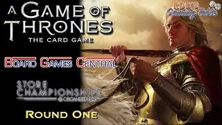 Game of Thrones LCG - Board Game Central Championship 2016