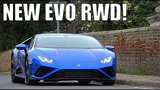 EXCLUSIVE FIRST DRIVE In The NEW Lamborghini Huracan EVO RWD!!