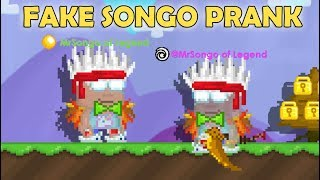 BEING FAKE NOOB PRANK!! (GONE WRONG) OMG!! | GrowTopia
