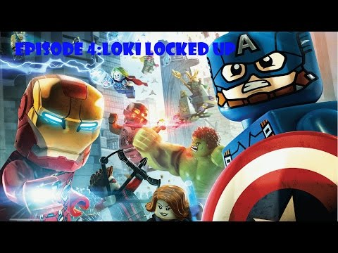 LEGO Marvel's Avengers Assemble Episode 4:Loki Locked Up