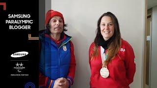 Entrevista y entrega medalla Astrid Fina | Víctor González | Samsung Paralympic Blogger