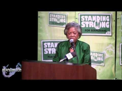 Dame Jennifer Smith At PLP RSJ Event, Oct 17 2012