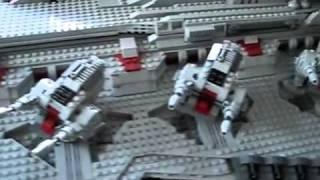 Величезний космічний корабель з lego.flv