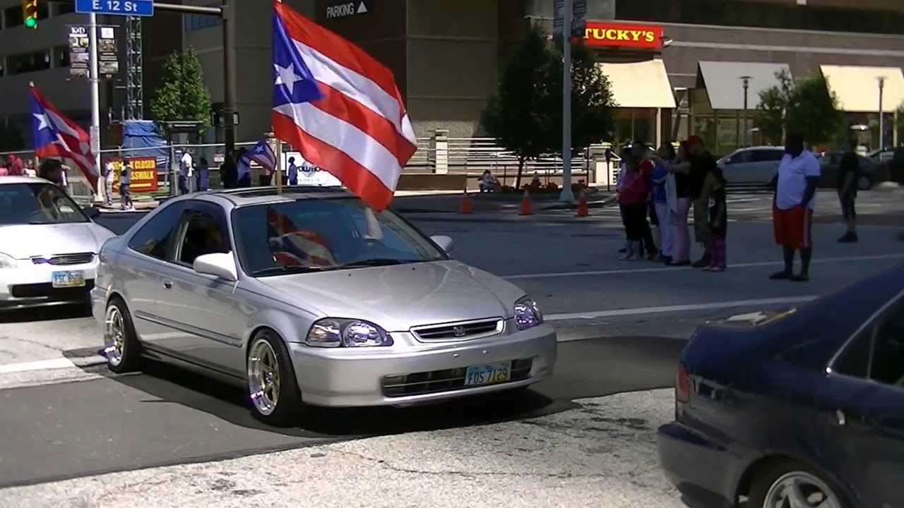 cool cars at cleveland puerto rican parade part 3 youtube. Black Bedroom Furniture Sets. Home Design Ideas