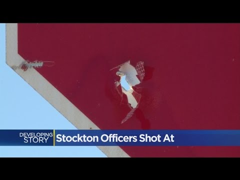 Suspects Shoot At Uniformed Stockton Cops During Traffic Stop Attempt