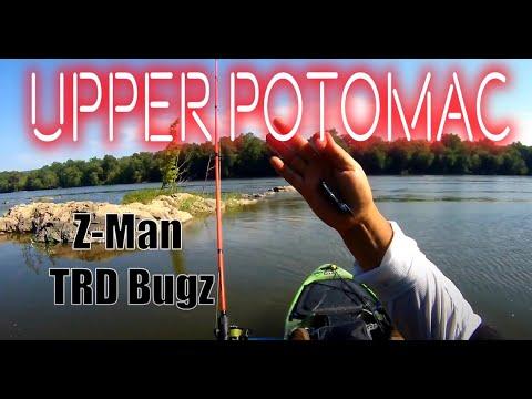 Upper Potomac Smallmouth Kayak Fishing