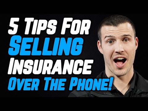 5 Tips For Selling Insurance Over The Phone!