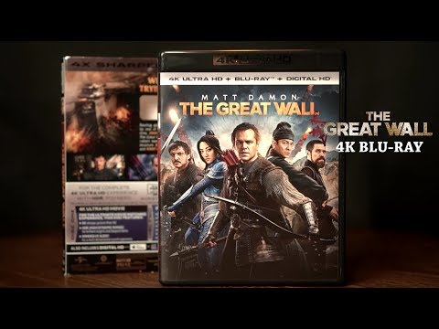 The Great Wall 4K and 3D Bluray Atmos Audio/ Video Review