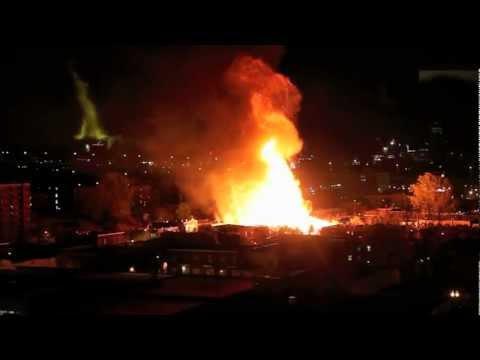 Incendie dans Ville-Marie, Montreal