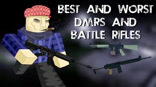 [ROBLOX] Phantom Forces - Best and Worst DMRs & Battle Rifles
