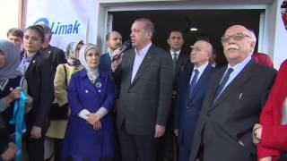 Siirt'te TÜRGEV Emine Erdoğan Kız Öğrenci Yurdu'nun açılış töreni| 04.05.2015