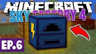 Minecraft Sky Factory 4 - FINALLY! #16 [Modded Questing Skyblock