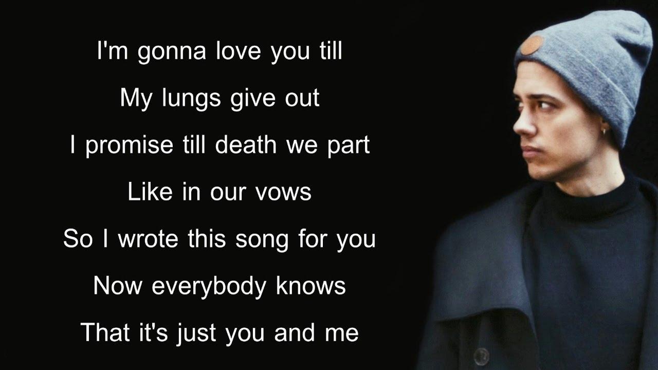James Arthur Say You Won T Let Go Lyrics Leroy Sanchez Cover Youtube