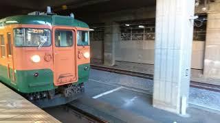 2018.02.12 115系 回送列車 高崎駅発車