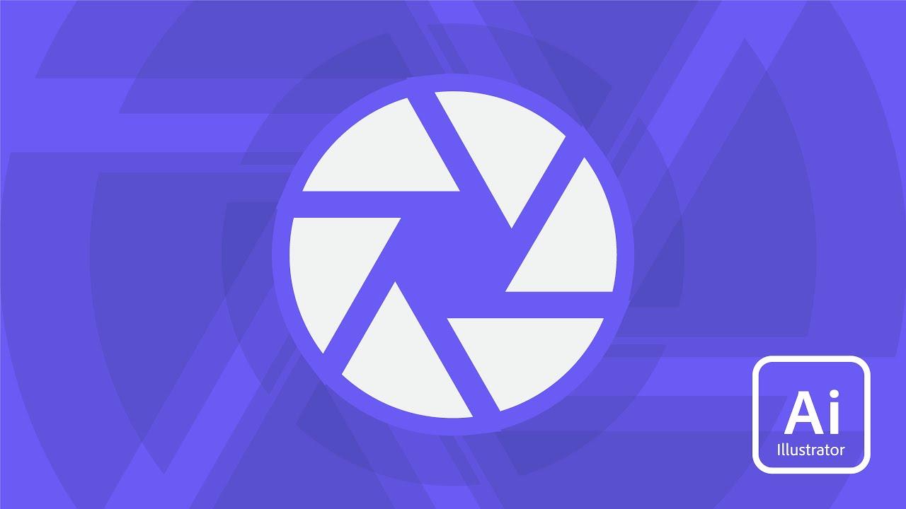Adobe Illustrator Shutter Icon Tutorial Youtube