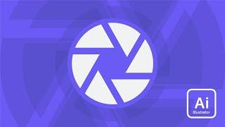 Adobe Illustrator | Shutter Icon Tutorial