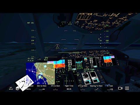 Infinite Flight Boeing 787-9.Multiplayer. Night Flight!
