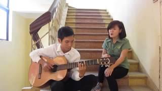 [Guitar cover] Girl xinh cover Em trong mắt tôi cực hay