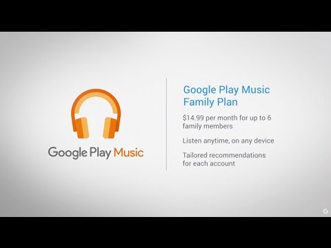 Google Play Music Family Plan  How To Remove An Account