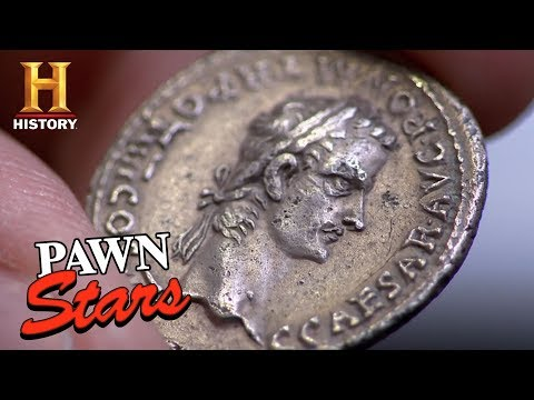 Pawn Stars: Caligula Coin Comes out of Storage | History