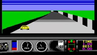 Bizarre car-racing games on the C64